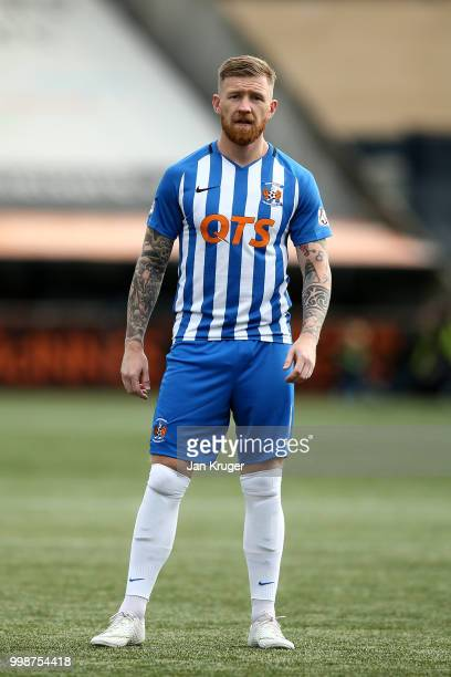 Alan Power of Kilmarnock FC during the Betfred Scottish League Cup match between Kilmarnock and St Mirren at Rugby Park on July 13 2018 in Kilmarnock...