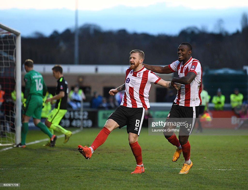 Lincoln City v Brighton & Hove Albion - The Emirates FA Cup Fourth Round : News Photo