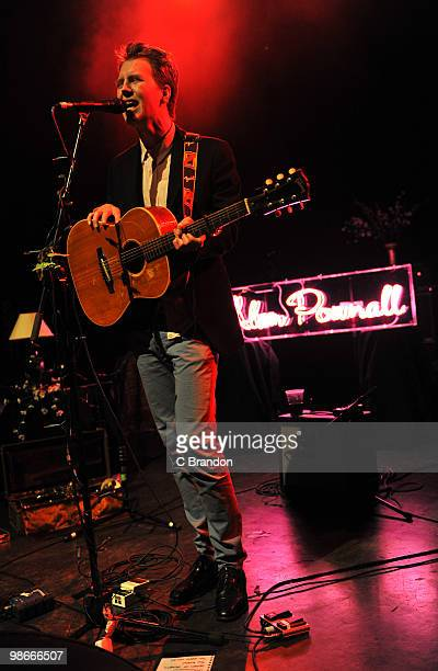 Alan Pownall perform on stage at Shepherds Bush Empire on April 22 2010 in London England