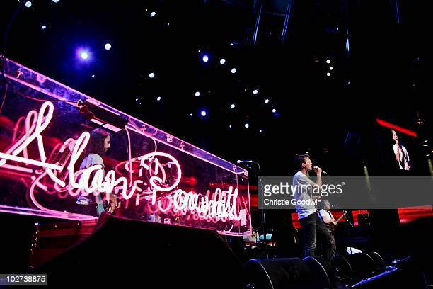 Alan Pownall performs on stage as part of iTunes Festival on July 7 2010 in London England