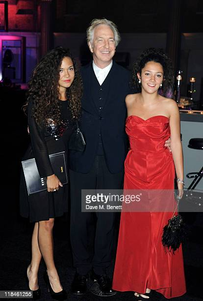 Alan Rickman attends an after party celebrating the World Premiere of 'Harry Potter And The Deathly Hallows Part 2' at Old Billingsgate Market on...