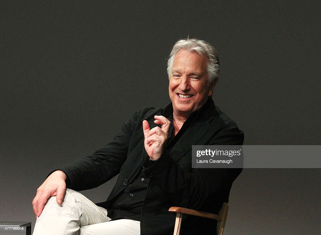 Meet the Filmmaker: Alan Rickman, 'A Little Chaos' at Apple Store Soho on June 19, 2015 in New York City.