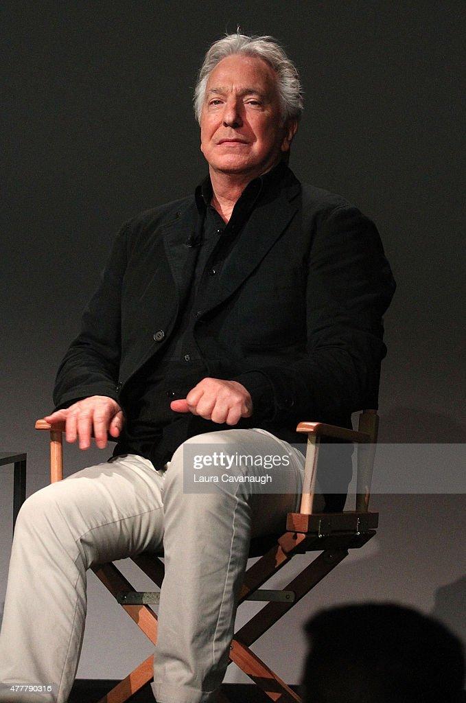 Meet the Filmmaker: Alan Rickman, 'A Little Chaos' at Apple Store Soho on June 19, 2015 in New York City.