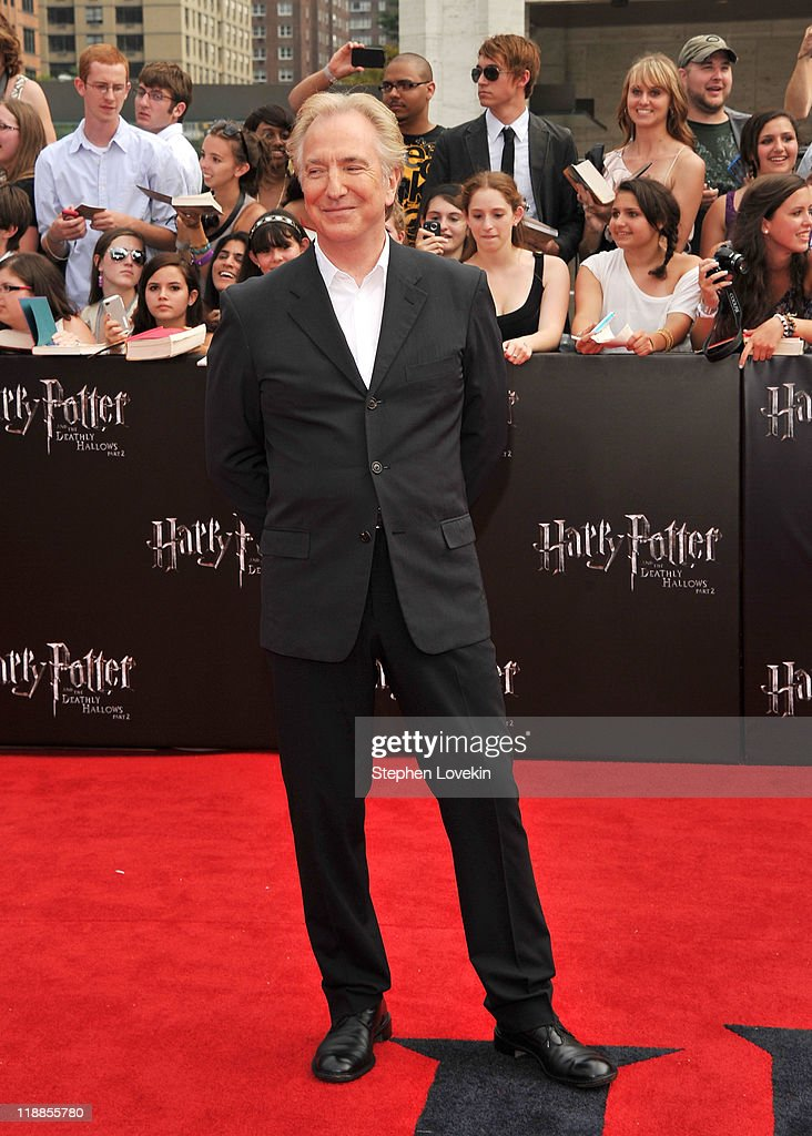 """Harry Potter And The Deathly Hallows: Part 2"" New York Premiere - Arrivals : News Photo"