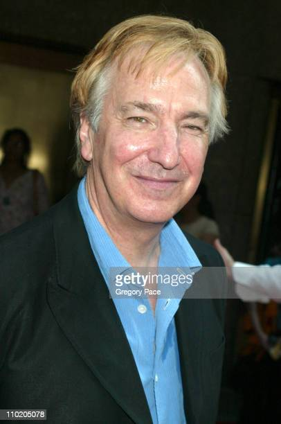 Alan Rickman during 'Harry Potter and the Prisoner of Azkaban' New York Premiere at Radio City Music Hall in New York City New York United States