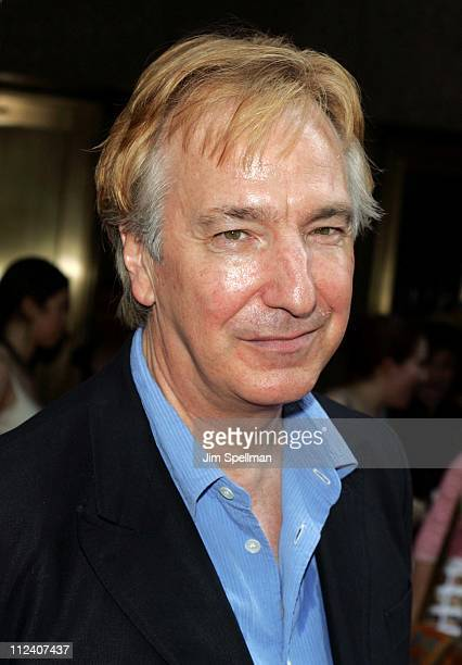 Alan Rickman during 'Harry Potter and the Prisoner of Azkaban' New York Premiere Arrivals at Radio City Music Hall in New York City New York United...