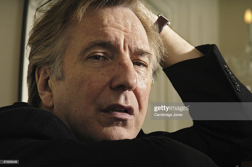 Cambridge Jones Portraits - Alan Rickman : News Photo