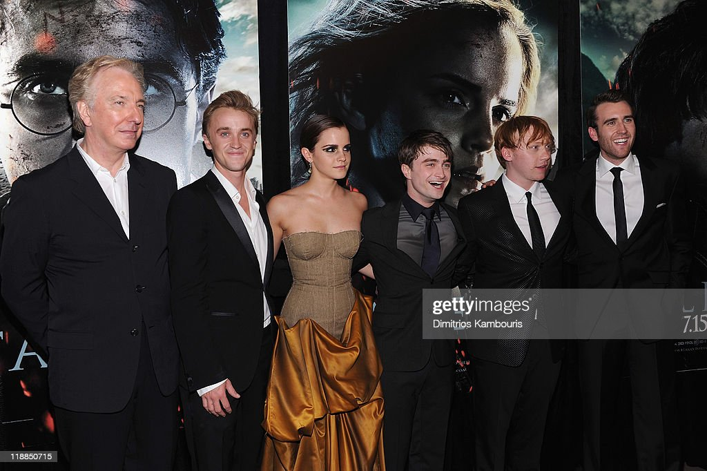 'Harry Potter And The Deathly Hallows: Part 2' New York Premiere - Inside Arrivals : News Photo