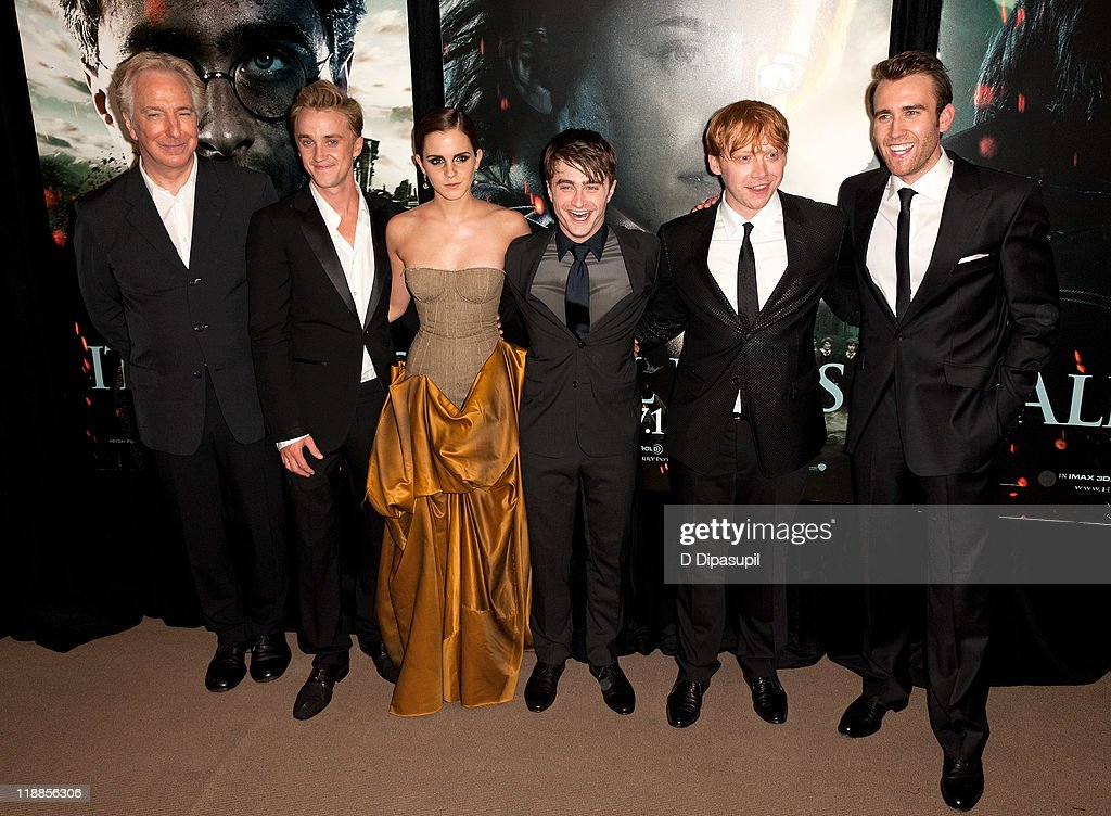 """Harry Potter And The Deathly Hallows: Part 2"" New York Premiere - Inside Arrivals : News Photo"