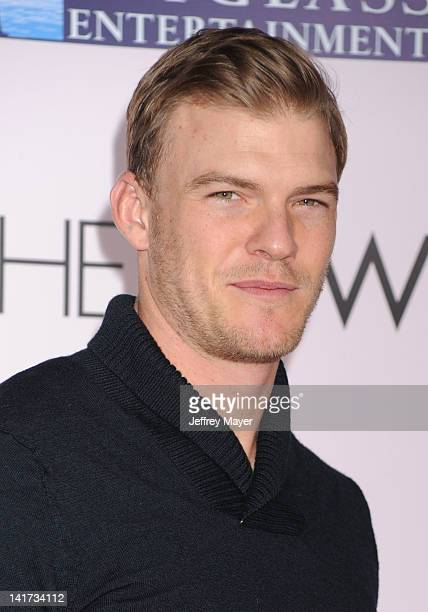 Alan Ritchson arrives at 'The Vow' Los Angeles Premiere at Grauman's Chinese Theatre on February 6 2012 in Hollywood California