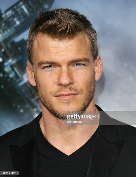 Alan Ritchson attends the Los Angeles premiere of 'Project Almanac' at TCL Chinese Theatre on January 27 2015 in Hollywood California