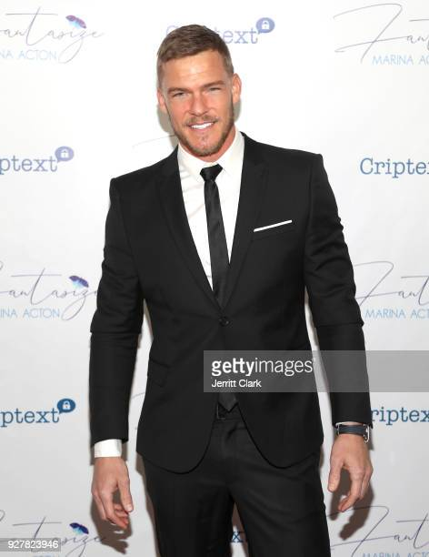 Alan Ritchson attends The Release Of Marina Acton's New Single Fantasize at Boulevard3 on March 5 2018 in Hollywood California