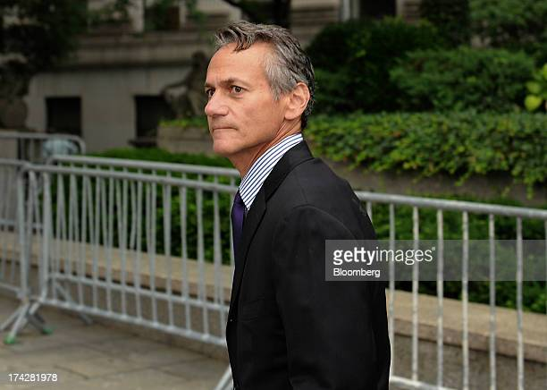 Alan Roseman former chief executive officer of ACA Capital Holdings Inc arrives at federal court to testify in the US Securities and Exchange...