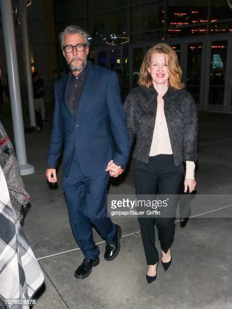 Alan Ruck and Mireille Enos are seen on January 08 2019 in Los Angeles California