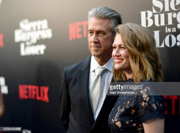 Alan Ruck and Mireille Enos attend the Los Angeles Premiere of the Netflix Film Sierra Burgess is a Loser at Arclight Hollywood on August 30 2018 in...