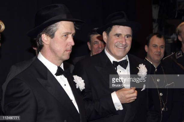 Alan Ruck and Richard Kind during 'The Producers' Celebrate Their 4th Anniversary on Broadway at St James Theater in New York City New York United...