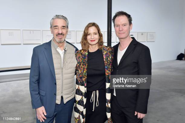 Alan Schwartz Alison Schwartz and Marc Payot attend Hauser Wirth Los Angeles Opening of Annie Leibovitz and Piero Manzoni and Musical Performance by...