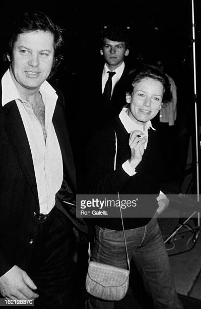 Alan Sharp and Trish Van Devere attend the screening of Table for Five on February 17 1983 at Mann National Theater in Westwood California