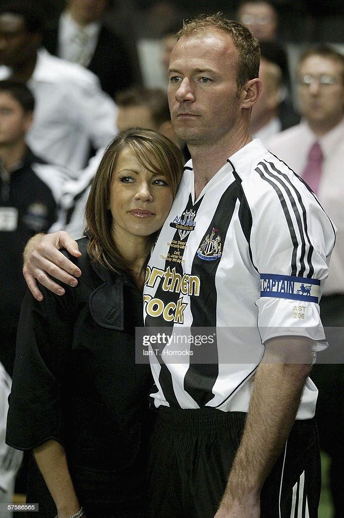 Alan Shearer Testimonial - Newcastle United v Celtic : News Photo