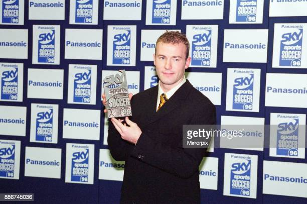 Alan Shearer at the Panasonic Sky Sports Soccer Awards '96 One of the main awards of the evening honoured the FA Carling Premiership Player of the...