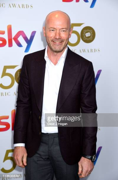 Alan Shearer attends the 2019 'TRIC Awards' held at The Grosvenor House Hotel on March 12, 2019 in London, England.