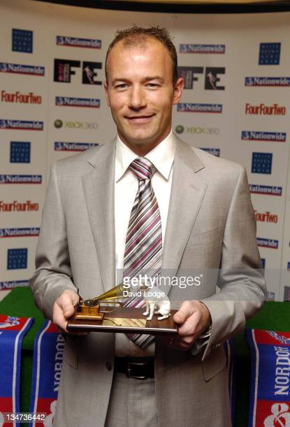 Alan Shearer during 2006 HMV Lifetime Achievement Awards at Grosvenor House Hotel Park Lane in London Great Britain