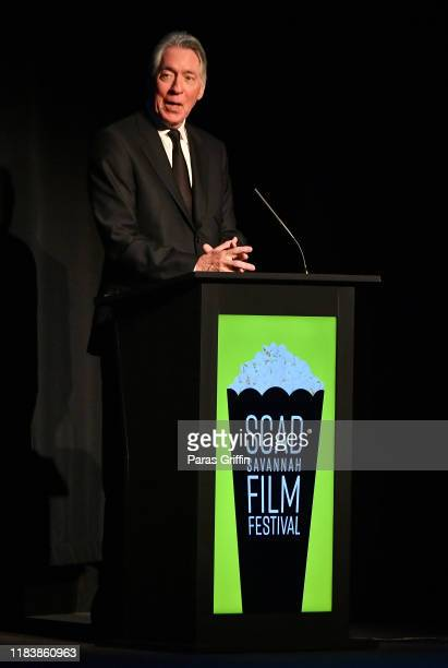 Alan Silvestri speaks onstage at Alan Silvestri Lifetime Achievement Award For Composing Presentation, Tribute & In Conversation during the 22nd SCAD...