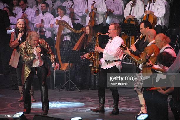 """Alan Simon , Johnny Logan als """"König Arthur"""" , John Helliwell , Konan Mevel, Martin Barre , Deutschlandpremiere """"Excalibur - Die musikalische..."""