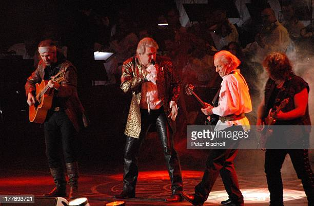 Alan Simon Johnny Logan als König Arthur Martin Barre Pat OÏMay Deutschlandpremiere Excalibur Die musikalische Auferstehung einer Legende von Alan...