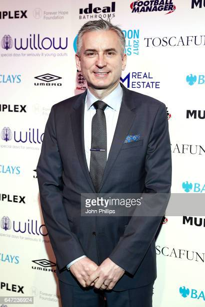Alan Smith attends the London Football Awards on March 2 2017 in London United Kingdom