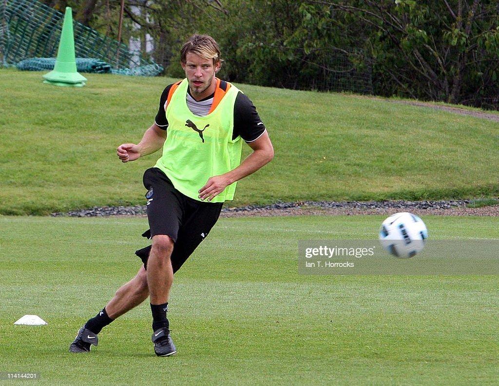 Newcastle United FC Training Session