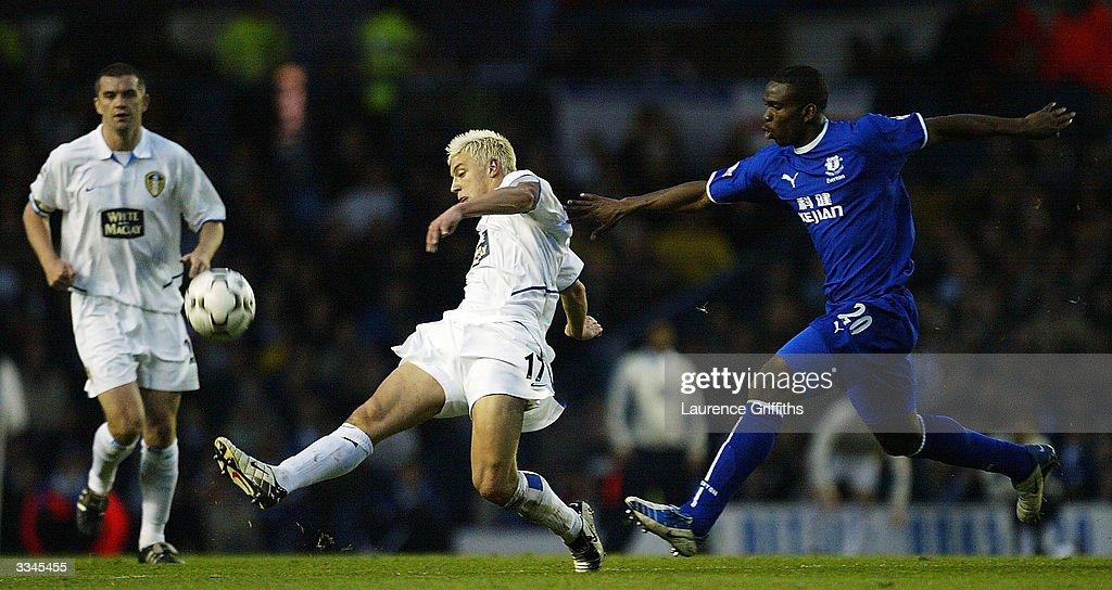 Leeds United v Everton : News Photo
