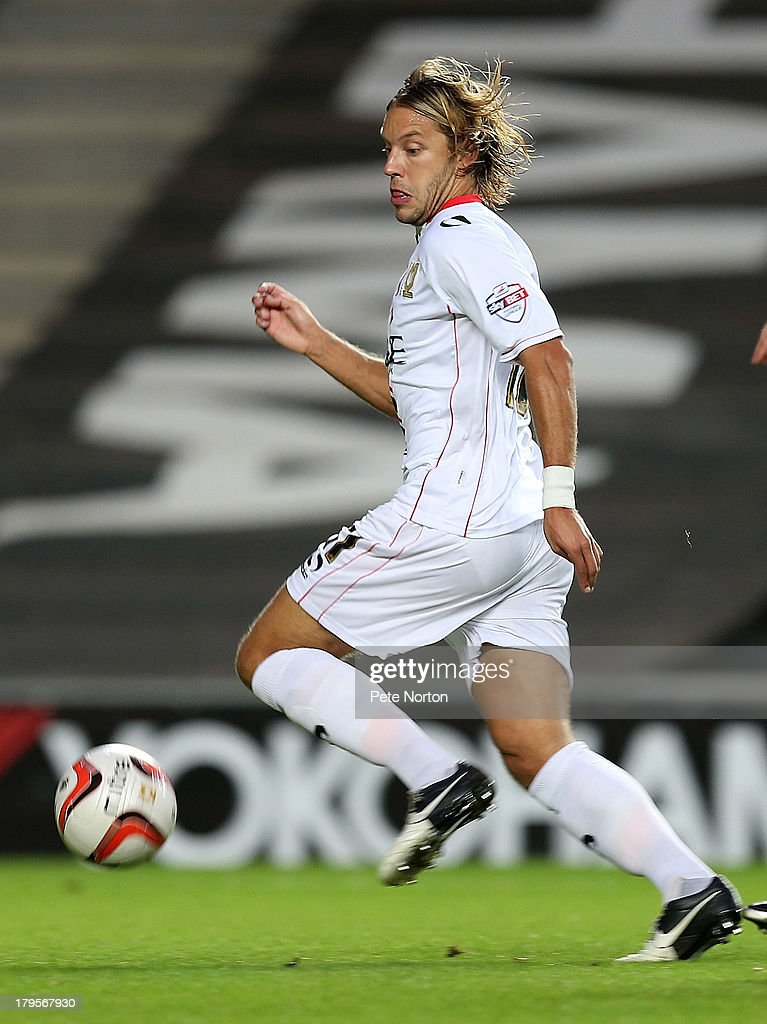 MK Dons v Northampton Town - Johnstone's Paint Trophy First Round