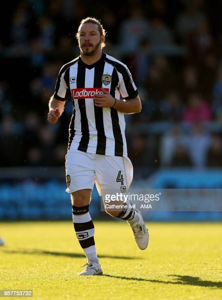 Alan Smith of Notts County during the Sky Bet League Two match between Wycombe Wanderers and Notts County at Adams Park on March 25 2017 in High...