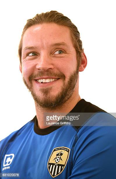 Alan Smith of Notts County speaks to the media during a Press Conference at Meadow Lane on January 5 2017 in Nottingham England
