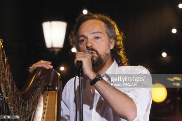 Alan Stivell en concert le 16 mars 1999 à Paris France