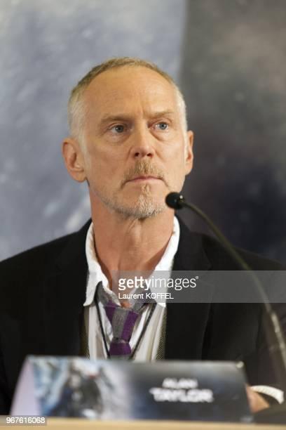 Alan Taylor assiste a la conference de presse du film 'Thor, le monde des tenebres' le 24 octobre 2013 a l'hotel Park Hyatt Vendome, Paris, France.