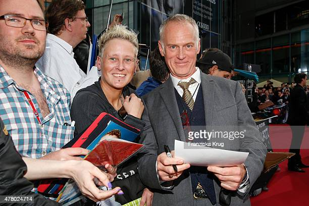 Alan Taylor attends the European Premiere of 'Terminator Genisys' at the CineStar Sony Center on June 21 2015 in Berlin Germany