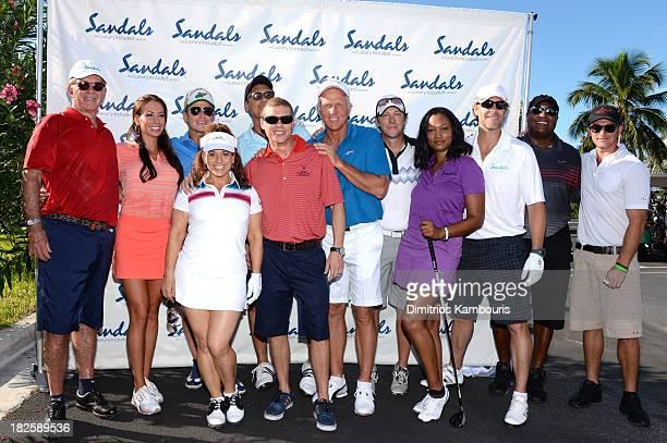 Alan Thicke Holly Sonders Billy Bush Marissa Jaret Winokur Steven Bauer Sandals Resorts International CEO Adam Stewart Greg Norman Kevin Rahm...