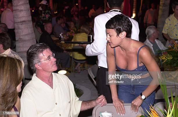 Alan Thicke & Natalie Raitano during Michael Jordan Celebrity Golf Invitational Opening Party at Atlantis in Paradise Island, Bahamas.