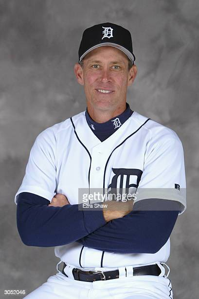Alan Trammell of the Detroit Tigers poses for portrait on February 29 2004 at the Tigers spring training complex in Lakeland Florida