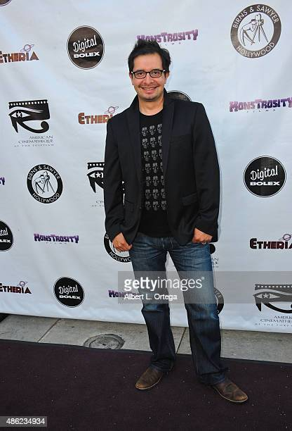 Alan Trezza arrives for the Etheria Film Night 2015 held at American Cinematheque's Egyptian Theatre on June 13, 2015 in Hollywood, California.