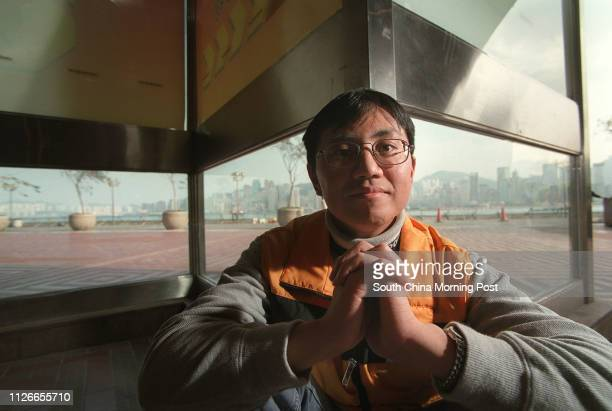 Alan Tsang Kaichi at an interview He received a lifesaving transplant after a relapse of Hodgkin's lymphoma a cancer of the lymphatic system 18...