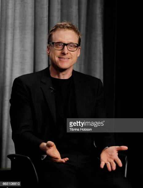 Alan Tudyk attends the AGAFTRA Foundation's Conversations with Alan Tudyk at SAGAFTRA Foundation Screening Room on April 5 2017 in Los Angeles...