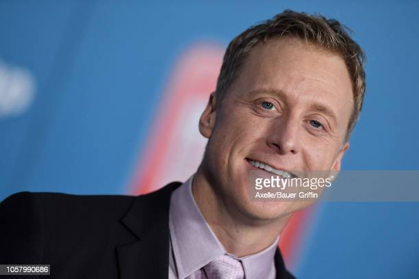 Alan Tudyk attends the premiere of Disney's 'Ralph Breaks the Internet' at El Capitan Theatre on November 5 2018 in Los Angeles California