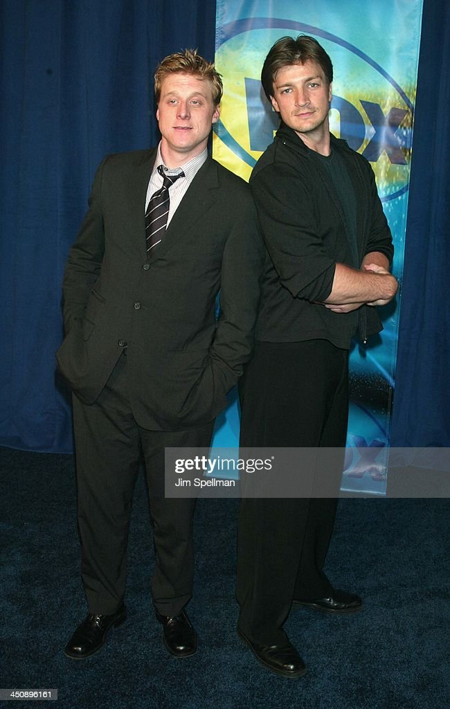 Fox Television 2002-2003 Upfront Party - Arrivals : News Photo