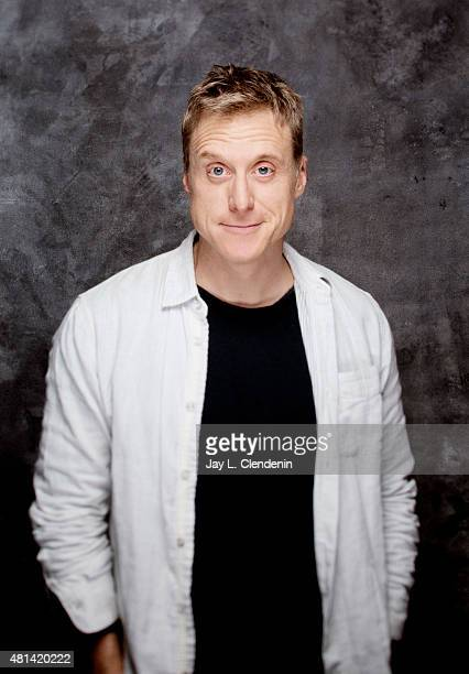 Alan Tudyk of 'Con Man' poses for a portrait at ComicCon International 2015 for Los Angeles Times on July 9 2015 in San Diego California PUBLISHED...