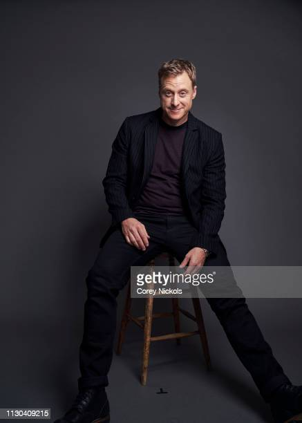 Alan Tudyk of DC Universe's Doom Patrol poses for a portrait during the 2019 Winter TCA at The Langham Huntington Pasadena on February 9 2019 in...