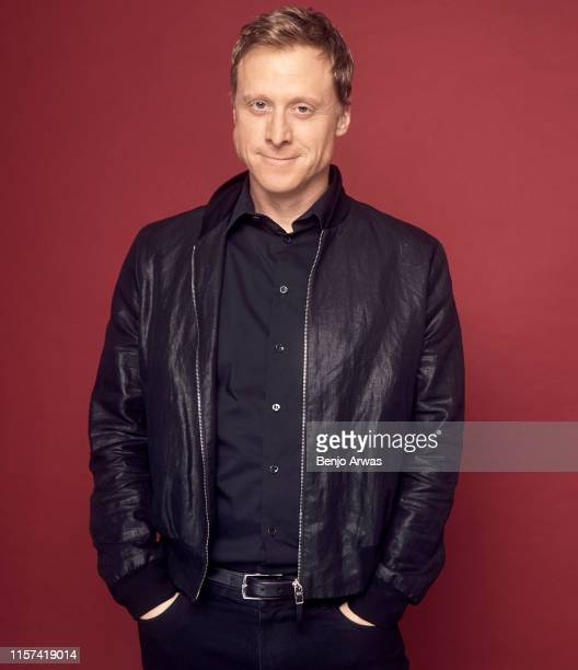 Alan Tudyk of DC Universe's 'Harley Quinn' poses for a portrait during the 2019 Summer TCA Portrait Studio at The Beverly Hilton Hotel on July 23...