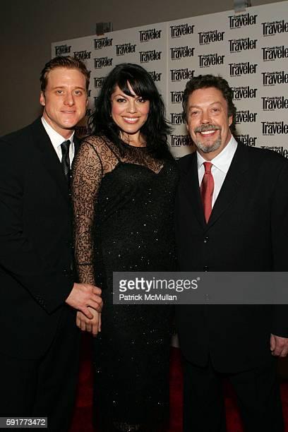 Alan Tudyk Sara Ramirez and Tim Curry attend Conde Nast Traveler 18th Annual Readers Choice Awards at The Metropolitan Museum of Art on October 17...